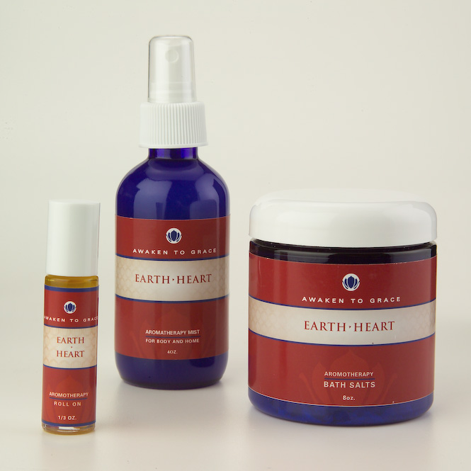 Earth Heart aromatherapy